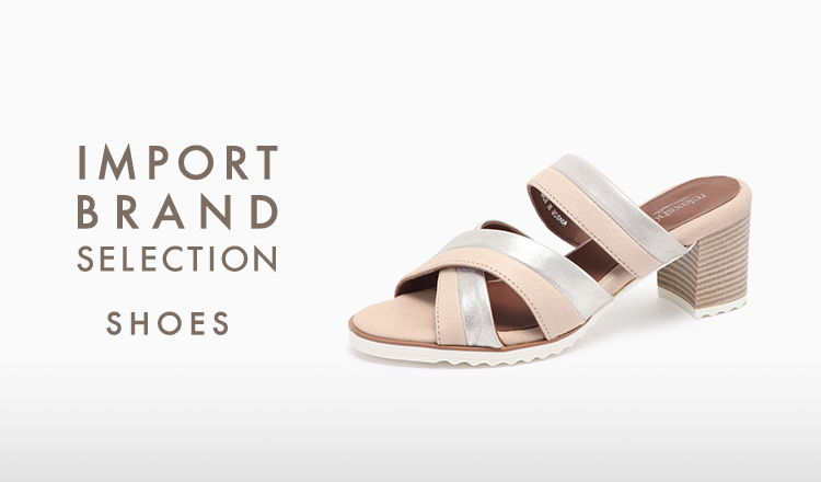 IMPORT BRAND SELECTION -SHOES-