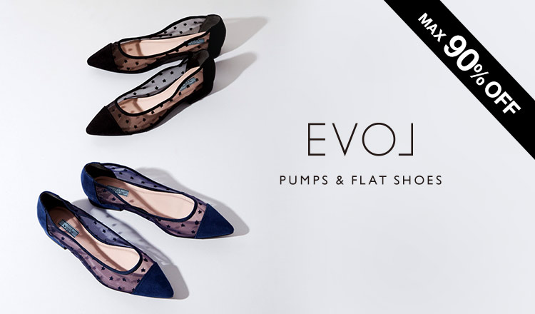 EVOL -PUMPS & FLAT SHOES-
