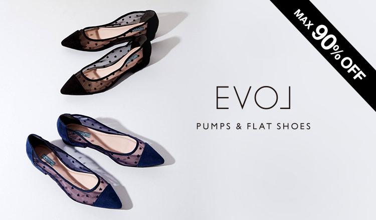 EVOL -PUMPS & FLAT SHOES-