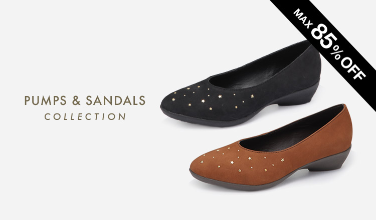 PUMPS & SANDALS COLLECTION
