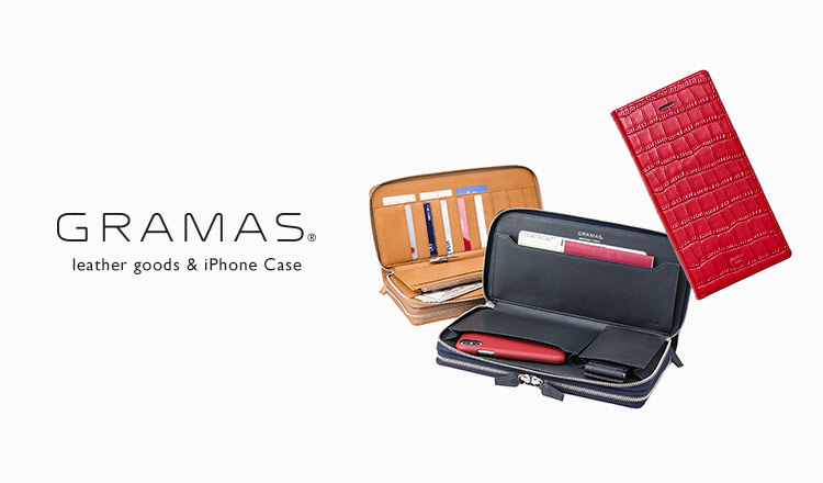 GRAMAS -leather goods & iPhone Case-
