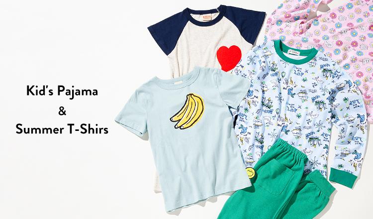 Kid's Pajama & Summer T-Shirs