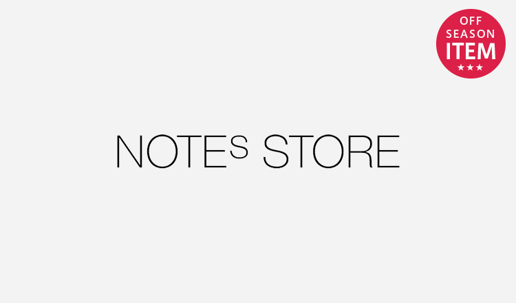 NOTES STORE_SEASON OFF ITEM