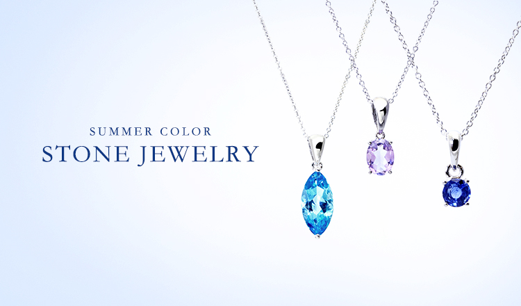 SUMMER COLOR STONE JEWELRY