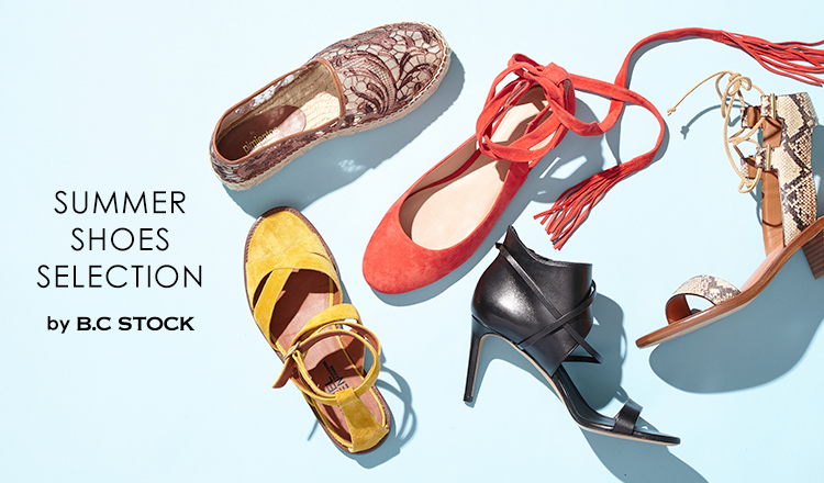SUMMER SHOES SELECTION by B.C STOCK