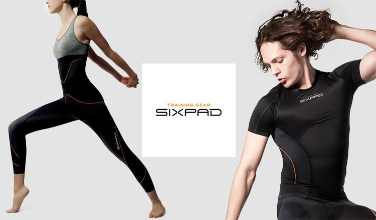 SIXPAD Training Suit series and more -着けて過ごす。その時間がトレーニングになる-