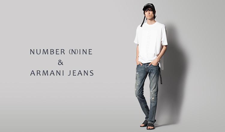 NUMBER (N)INE & ARMANI JEANS