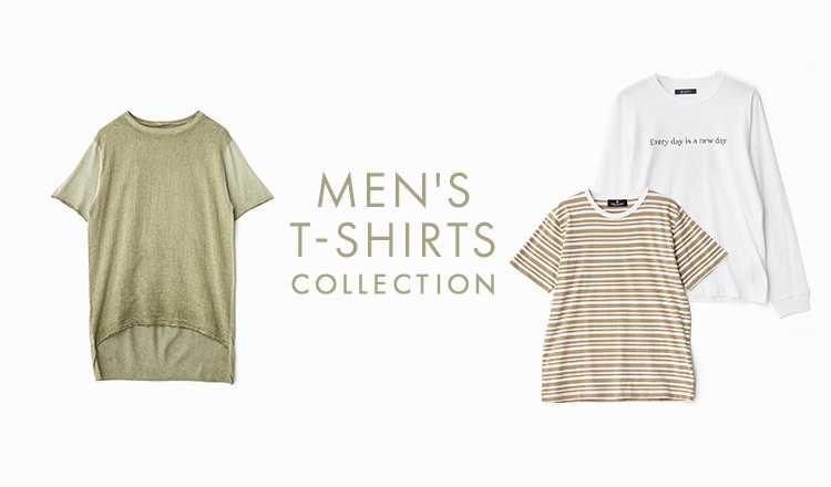×MEN'S T-SHIRTS COLLECTION