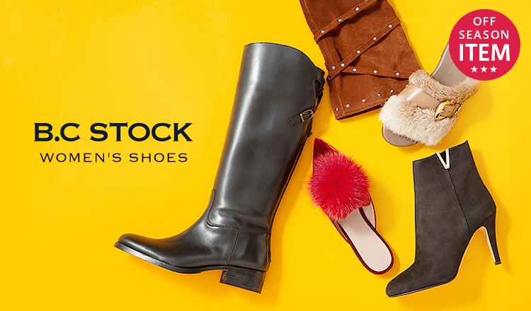 B.C STOCK WOMEN'S SHOES -OFF SEASON SPECIAL PRICE-