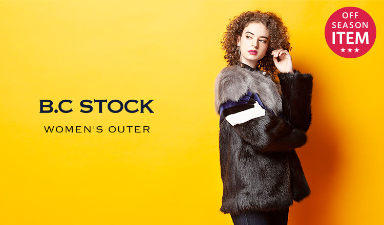 B.C STOCK WOMENS'OUTER -OFF SEASON SPECIAL PRICE-