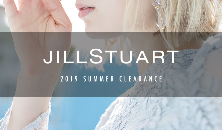 JILLSTUART -2019 SUMMER CLEARANCE-