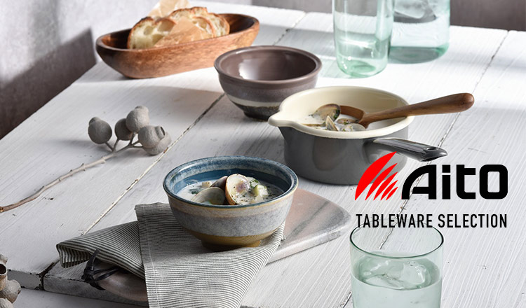 TABLEWARE SELECTION BY AITO