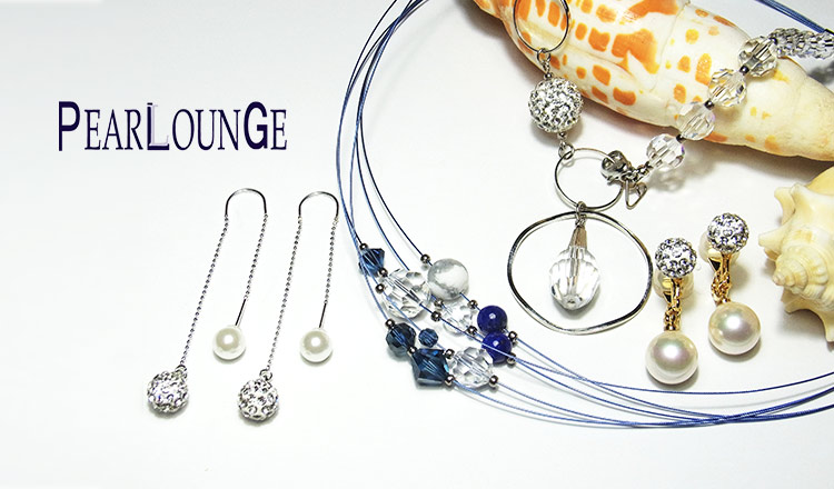 PEARLOUNGE -SUMMER CLEAR JEWELRY-