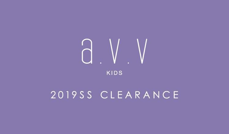 a.v.v Kids -2019SS CLEARANCE-