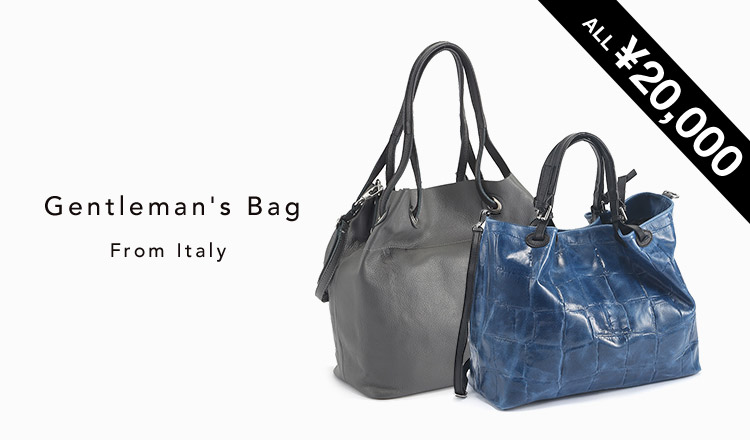 Gentleman's Bag From Italy : ¥20,000