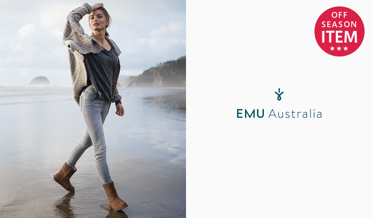 EMU AUSTRALIA -SEASON OFF ITEM-