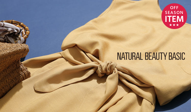 NATURAL BEAUTY BASIC -SEASON OFF SPECIAL PRICE-