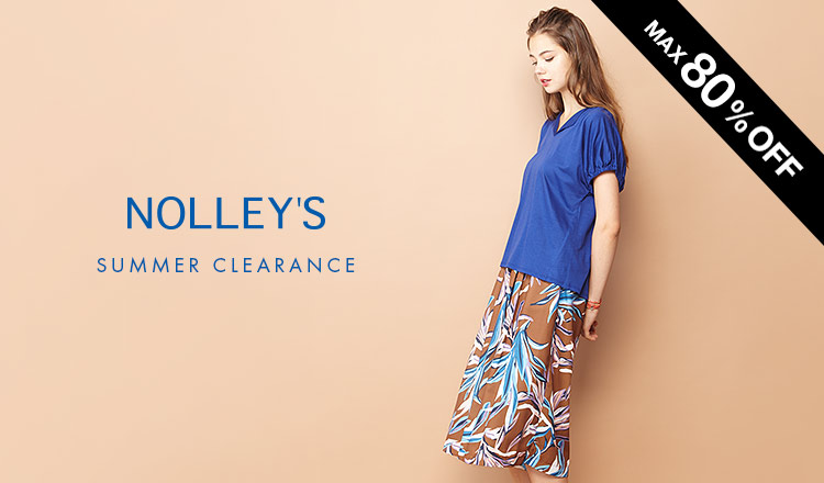 NOLLEY'S -SUMMER CLEARANCE-