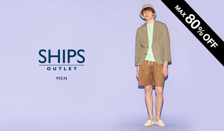 SHIPS OUTLET MEN -MAX80%OFF-