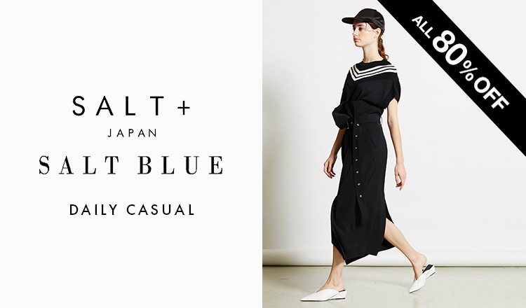 SALT+JAPAN -DAILY CASUAL-