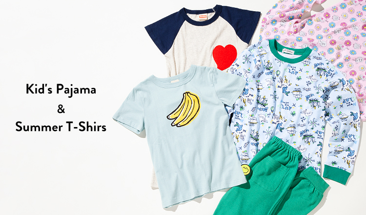 Kid's Pajama & Summer T-Shirs