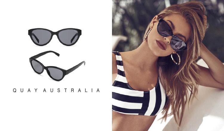 QUAY AUSTRALIA-夏のサングラスコレクション-