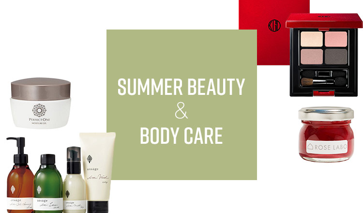 SUMMER BEAUTY & BODY CARE