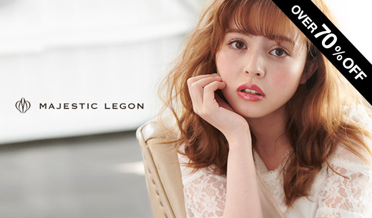 MAJESTIC LEGON -ALL OVER70%OFF-