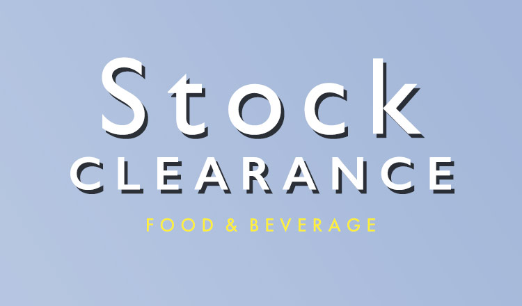 STOCK CLEARANCE FOOD & BEVERAGE