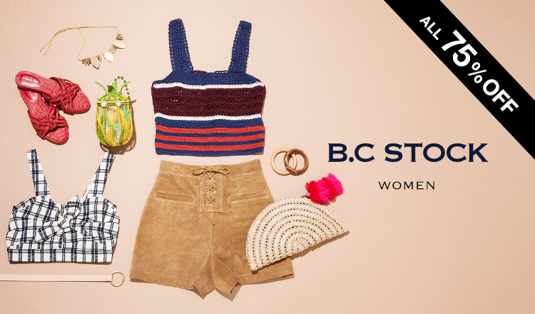 B.C STOCK WOMEN ALL 75%OFF