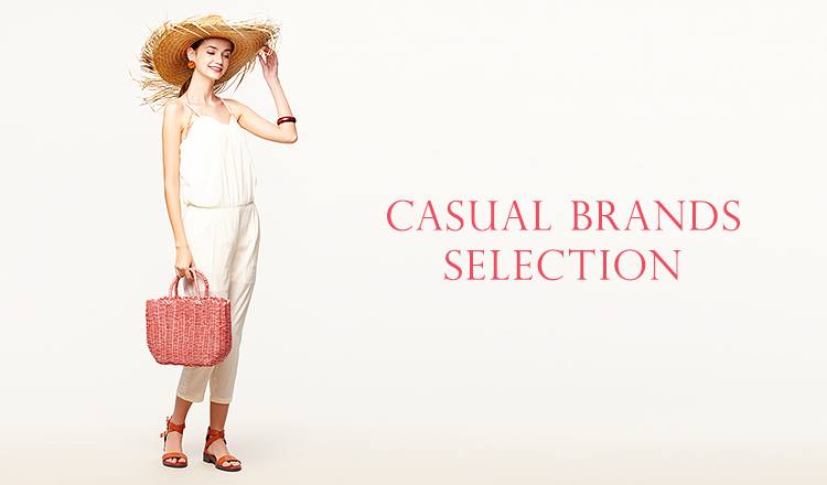 CASUAL BRANDS SELECTION