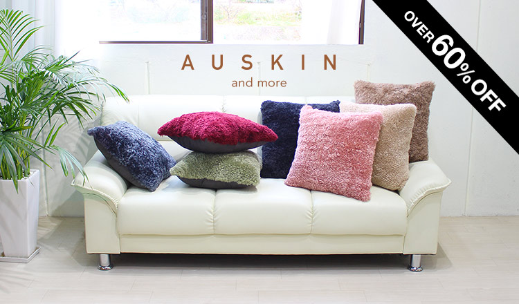 AUSKIN Season Off over 60%Off!!