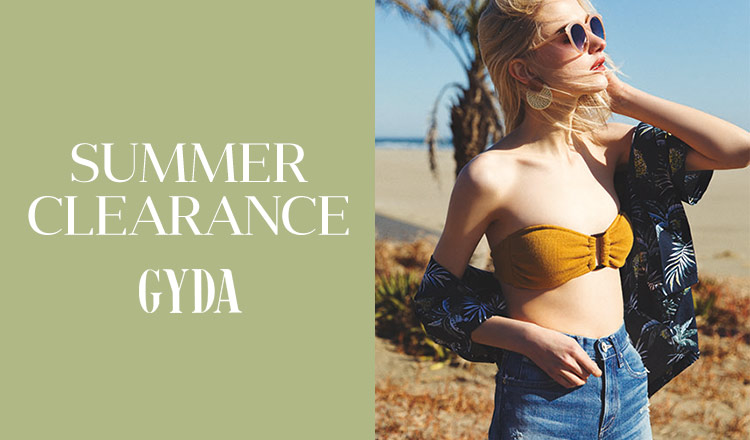 GYDA -SUMMER CLEARANCE-