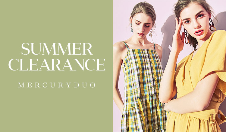 MERCURYDUO -SUMMER CLEARANCE-