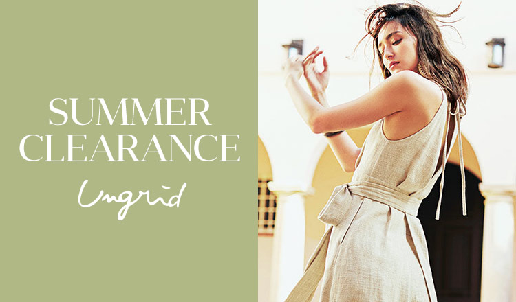 Ungrid -SUMMER CLEARANCE-