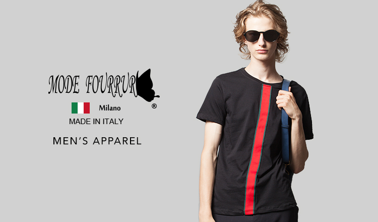 MODE FOURRURE Apparel MEN