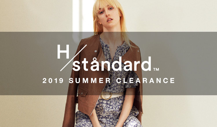 H/STANDARD 2019SS MORE SALE