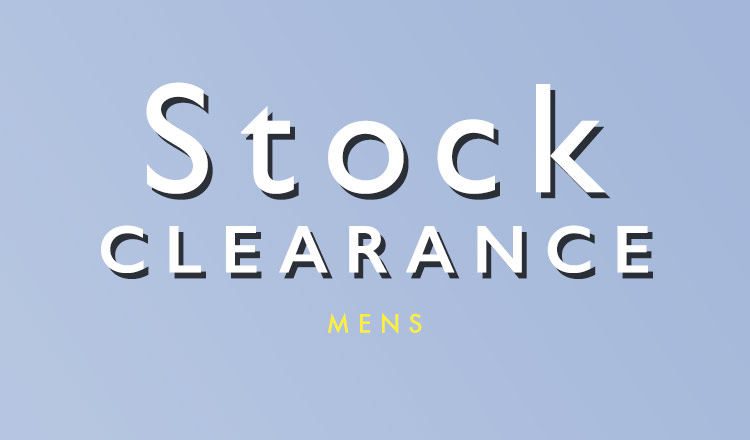 STOCK CLEARANCE MENS