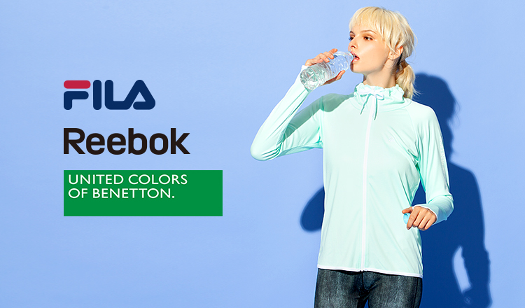 FILA/REEBOK/BENETTON FITNESS SWIMWEAR OVER 70%OFF