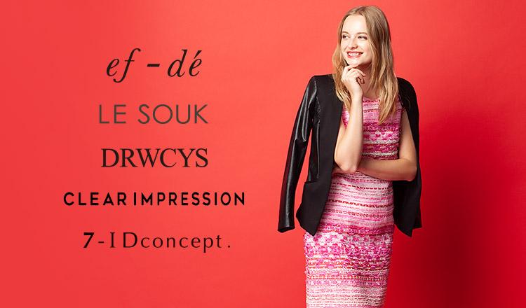 ef-de / Le souk / DRWCYS/CLEAR IMPRESSION / 7-ID CONCEPT