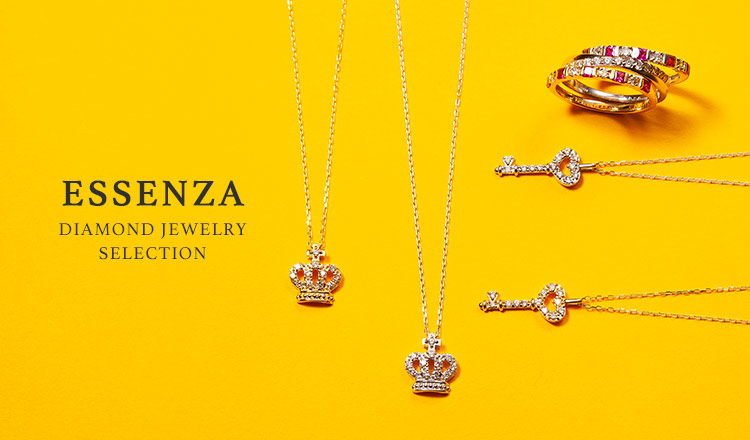 ESSENZA DIAMOND JEWELRY SELECTION