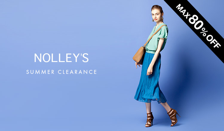 NOLLEY'S -SUMMER CLEARANCE MAX80%OFF-