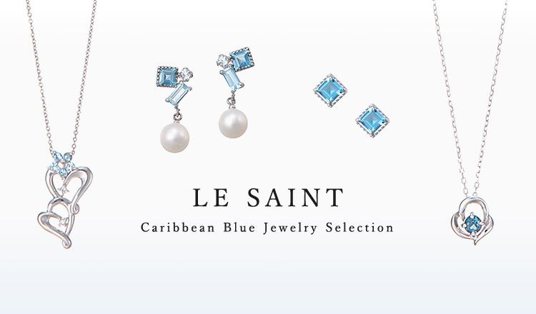 LE SAINT-Caribbean Blue Jewelry Selection-
