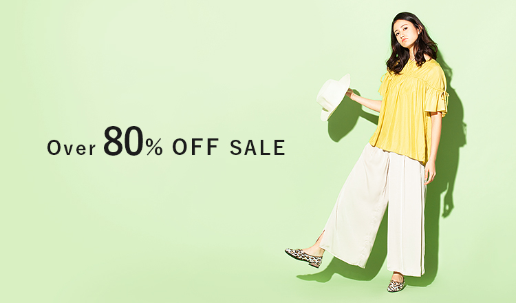 Over80%OFF SALE