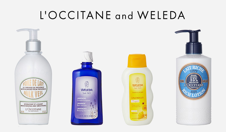 WELEDA and L'OCCITANE