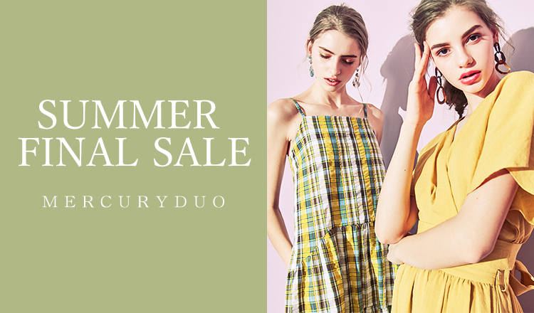 MERCURYDUO -SUMMER FINAL SALE-