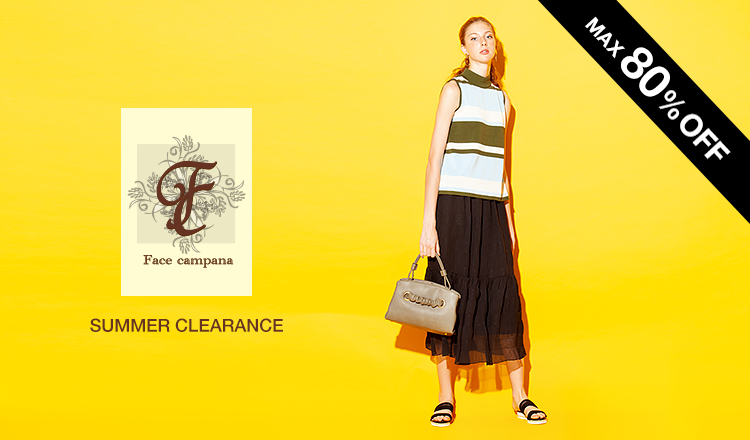 FACE CAMPANA -SUMMER CLEARANCE MAX80%OFF-