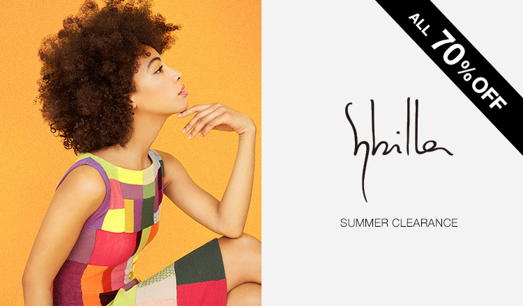 SYBILLA -SUMMER SALE ALL70%OFF-