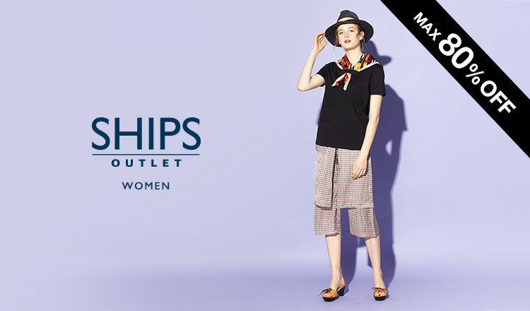 SHIPS OUTLET WOMEN -MAX80%OFF-