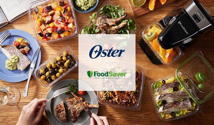 Oster/Foodsaver ~ミキサー&真空保存で、すぐ美味しい!ずっと美味しい!